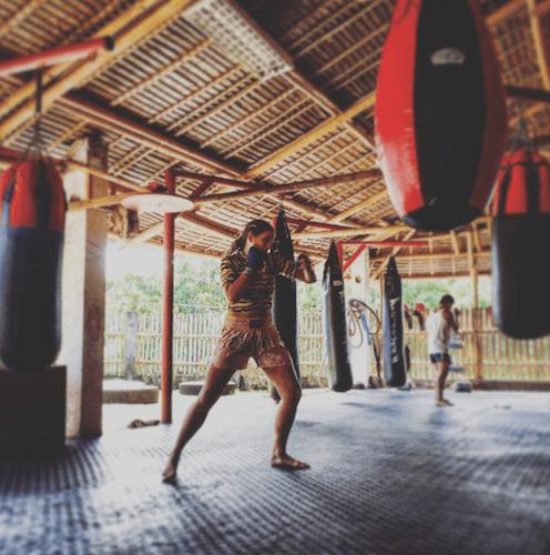 Kate Bacik in Thailand