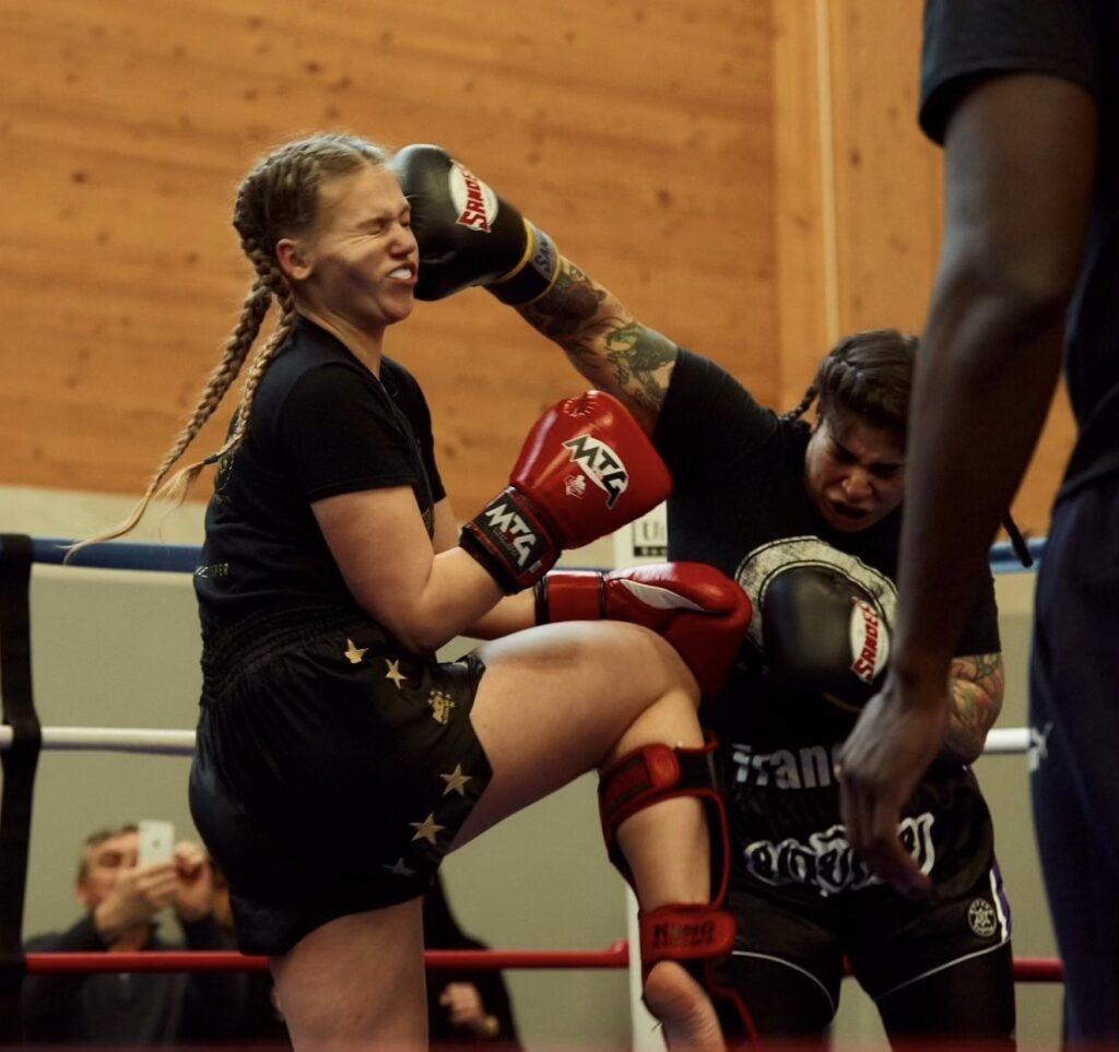 Sophie Francois Fighting